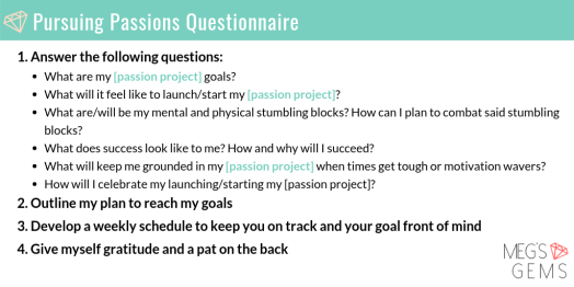 Pursuing Passions Questionnaire (1)